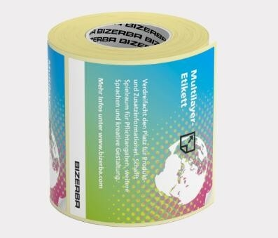 High Standard Multi Layer Labels Waterproof With Custom Design