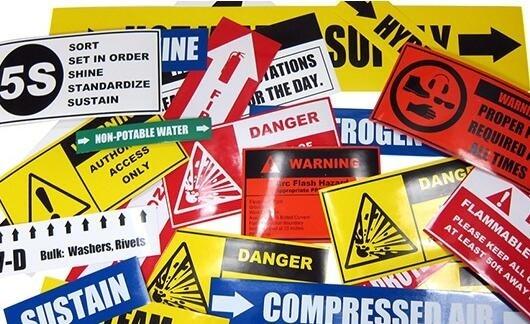 Non Toxic Printable Tamper Proof Labels Self Adhesive