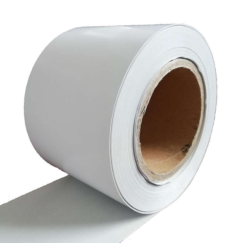 Yellow Sillicon Liner 1000m 95G Compostable Adhesive Labels